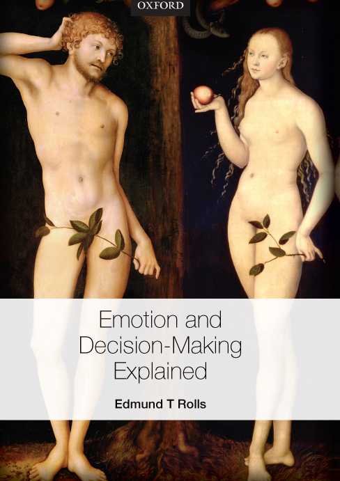 Emotion and Decision-Making Explained Cover